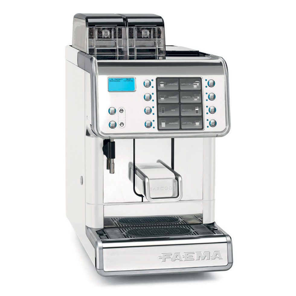 Faema Barcode Bean To Cup Coffee Time